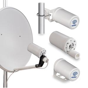Комплект KSS-Pot MIMO для установки 3G/4G модема в параболический облучатель