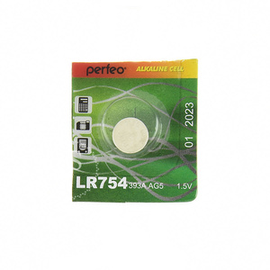 Элемент питания Perfeo AG-5 BL10 (LR754,393A)