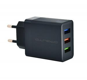 OT-AD05 Черный ЗУ с USB (5В, 2400mA)