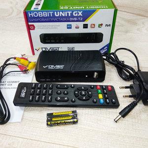DVS-T2+C HOBBIT UNIT GX universal RCU:  Приемник цифровой эфирный DVB-T/T2/C