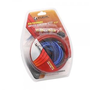 Набор кабелей для автоакустики КUERL X9 (4м)