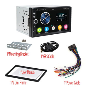Автомагнитола 2DIN (сенсор. Дисплей/USB/AUX/Радио/Bluetooth/GPS/микрофон)  KSD-7031G