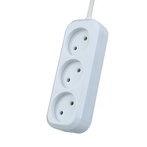 """Сетевой удлинитель Perfeo """"RU POWER"""", 1,5м, 3 розетки, белый (Р16-012) PF_B4061"""