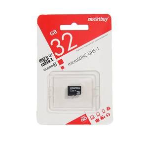 Smart Buy micro SDHC 32GB Class10 (без адаптеров)