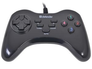 Геймпад Defender GAME MASTER G2 13 кн., USB (64258)