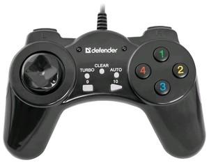 Геймпад Defender Vortex USB, 13 кнопок, USB (64249)