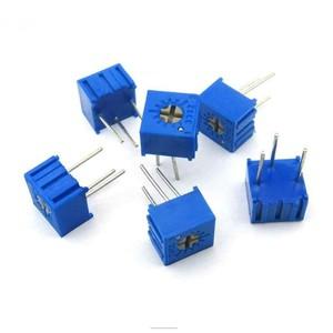 Резистор подстроечный (потенциометр) 3362P-1-101 100 Ом