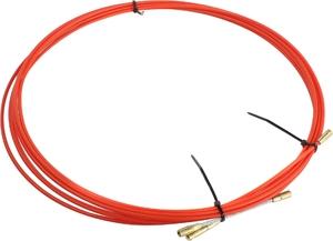 Протяжка кабельная REXANT (мини УЗК в бухте), стеклопруток, d=3,5 мм 30 м, красная