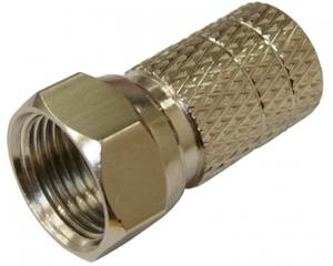 Штекер F TS-005 (F-разъем RG-6 резин.кольцо)