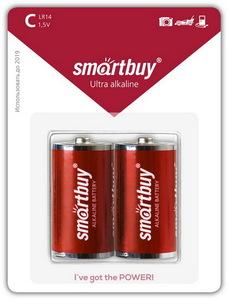 Элемент питания Smartbuy LR20 BL2 (2шт.)
