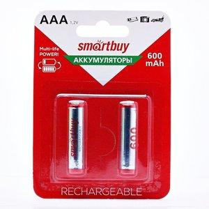 Аккумулятор Smartbuy 600МНААA- 2 (1 шт.!)