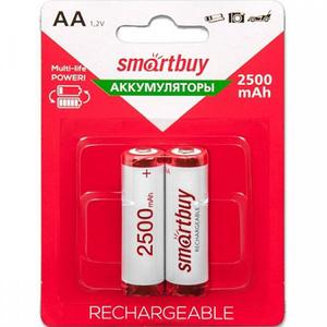 Аккумулятор Smartbuy 2500 mhAA-2 BL2