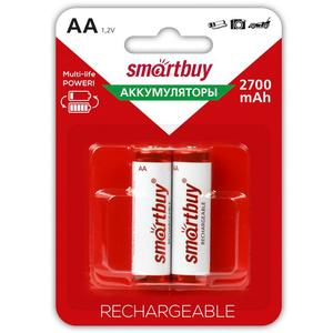 Аккумулятор Smartbuy 2700МНАА- 2 BL2