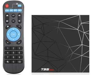 T95 Max TV BOX Android 9.0 Allwinner H6 4/64 //3m