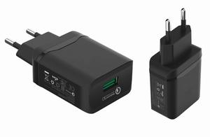 Сетевое зарядное устройство MR30i 5V/3.1A 1USB + iPhone 6/7/8/X 1,2m (быстрая зарядка QC3.0)