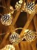 Гирлянда металлические шары CADENA, 20 LED, 3 метра, 20205