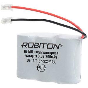 """Аккумулятор для радиотелефона Dect-T157 (300 mAh 3.6V) 3x2/3AA Ni-Mh """"Robiton"""""""