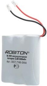 "Аккумулятор для радиотелефона Dect-T160 (600 mAh 3.6V) 3xAA Ni-Mh ""Robiton"""