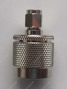 Переходник SN-311 - SMA папа (вилка) - N папа (вилка). Конструктив прямой.