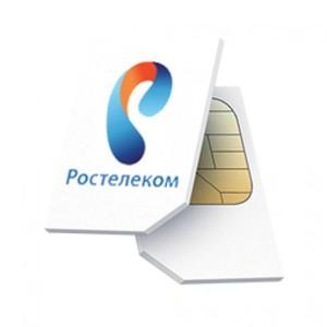 Сим карта Ростелеком 315 руб. в месяц, Безлимит, для смартфона