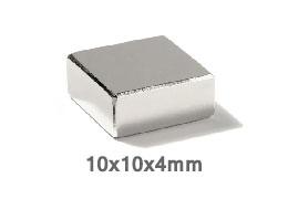 Магнит B 10x10x4 N35