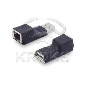 Активный USB удлинитель по витой паре АМ-AF/RJ45
