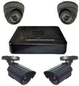 Комплект AHD видеонаб. Орбита VP-605(4 камеры)