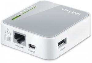 TP-LINK Портативный 3G-4G беспроводной маршрутизатор TL-MR3020