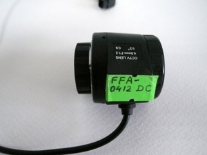 "Объектив FFA-0412DC (4mm, F1,2, 1/3"" CS, авто диафр.)"
