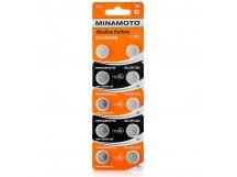Батарейка AG3 (LR41) MINAMOTO 10/card