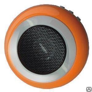 Радиоприемник-колонка I'STYLE VK-3C желт., ак.бат. 3,7V (в компл.),б/п, USB, SD,