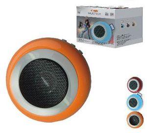 Радиоприемник-колонка I'STYLE VK-3C красн., ак.бат. 3,7V (в компл.),б/п, USB, SD