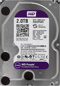 Жесткий диск Western Digital Purple WD20PURX 2 Тб