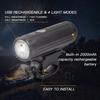 Патриот PT-FLB01 фонарь велосипедный (1L, аккум)