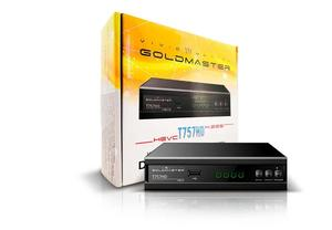 Ресивер GoldMaster T757HD, H.265, HEVC, металл