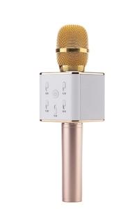 Микрофон беспроводной Q7(Bluetooth, динамики, USB)
