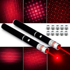 Лазерная указка Следопыт SL-03-5 (2*ААА, красн, насадки)